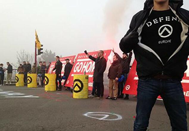 Manifestazione Generazione identitaria