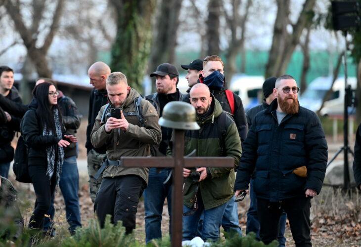 """""""Fortezza Budapest"""", il raduno nero nel cuore d'Europa"""